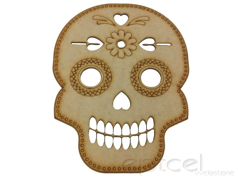 Quadro Decorativo Placa Caveira Mexicana Mdf Decoracao 0753