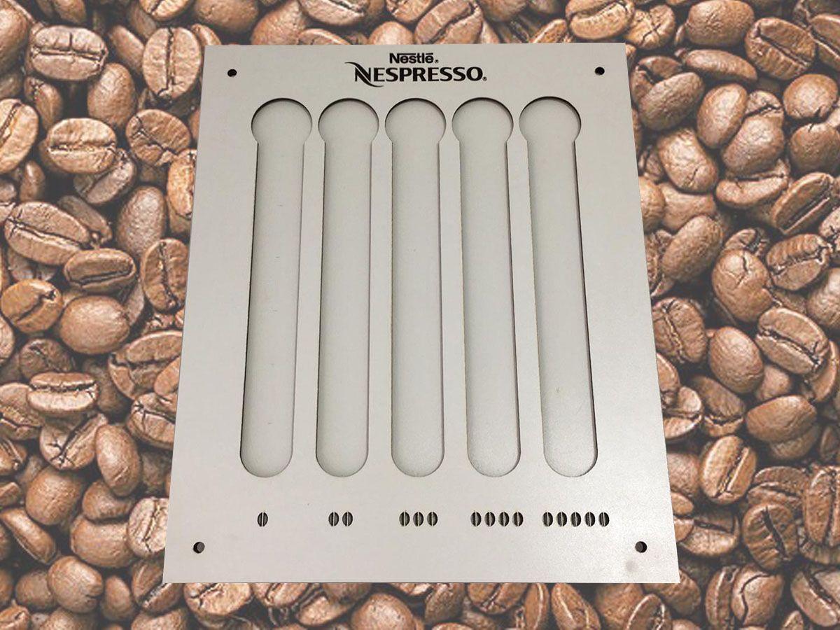 Suporte Porta Cápsulas Café Nespresso Mdf Branco