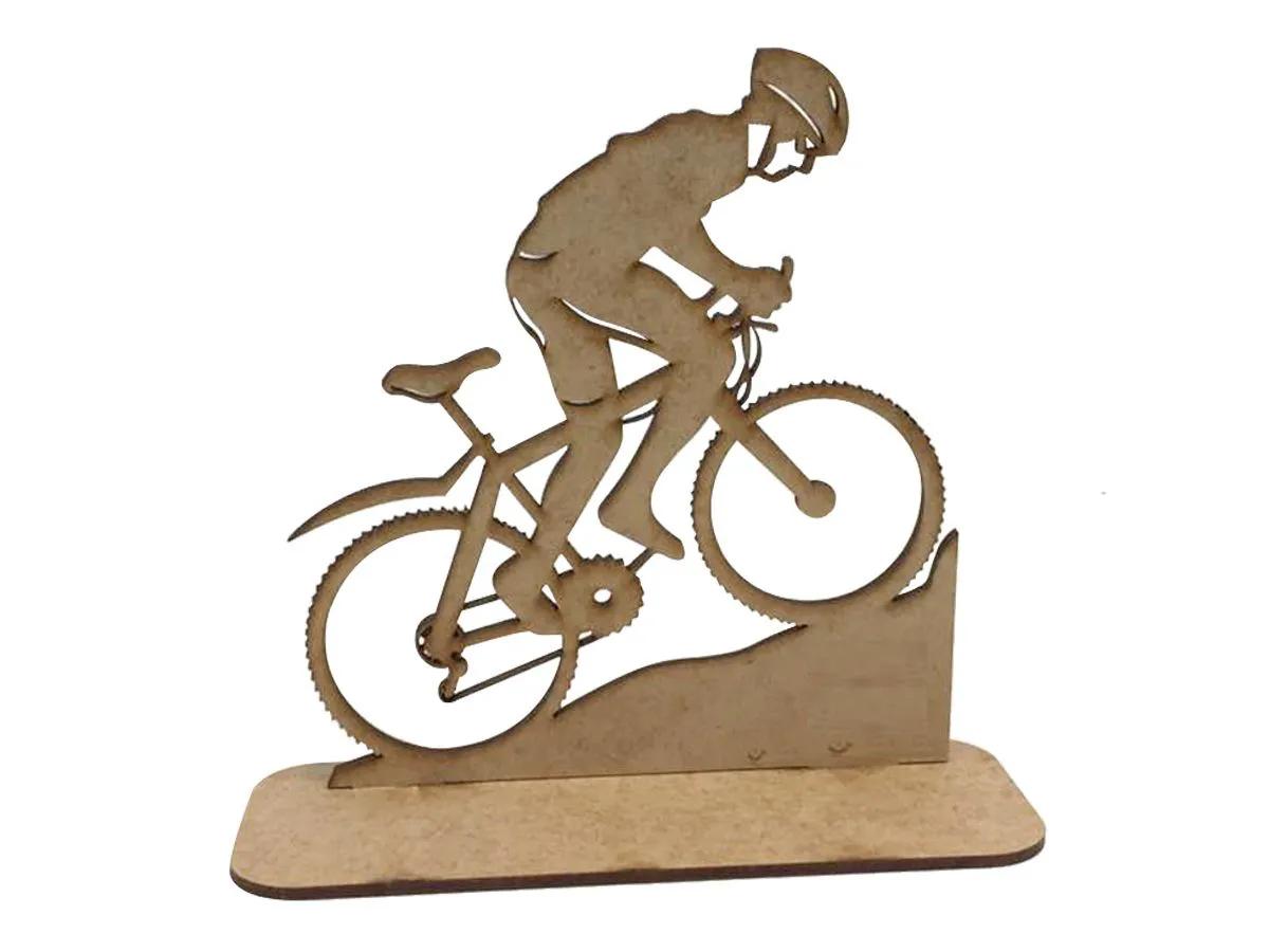 Troféu Medalha Em Mdf Bike Bicicleta 20 Un
