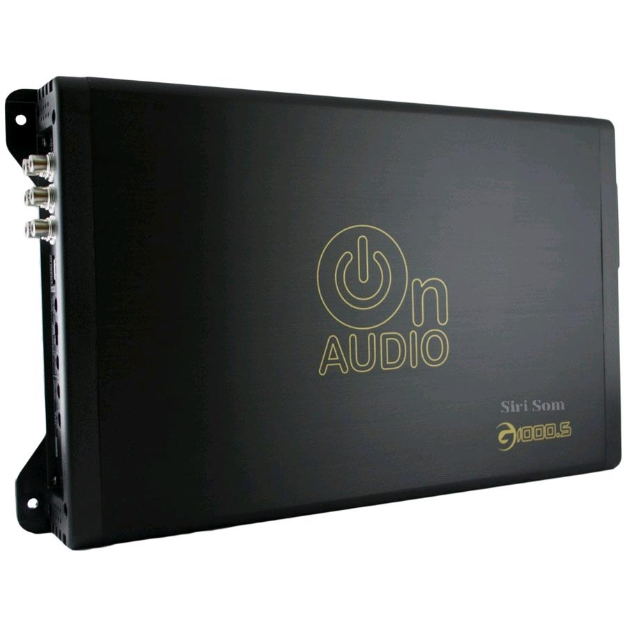 Amplificador De Qualidade On Audio G1000.5 5 Canais