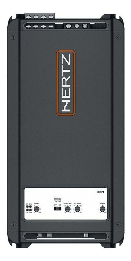 Amplificador Hertz Mono Hdp 1 Class D 1000w Rms