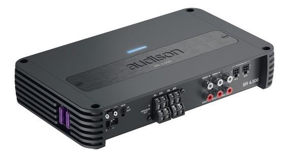Amplificador Módulo Com Crossover Audison Sr 4500 4 Canais