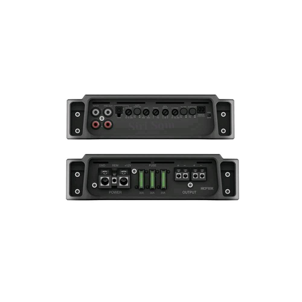 Combo Amplificador Módulo Hertz Hcp 1dk + Hcp4