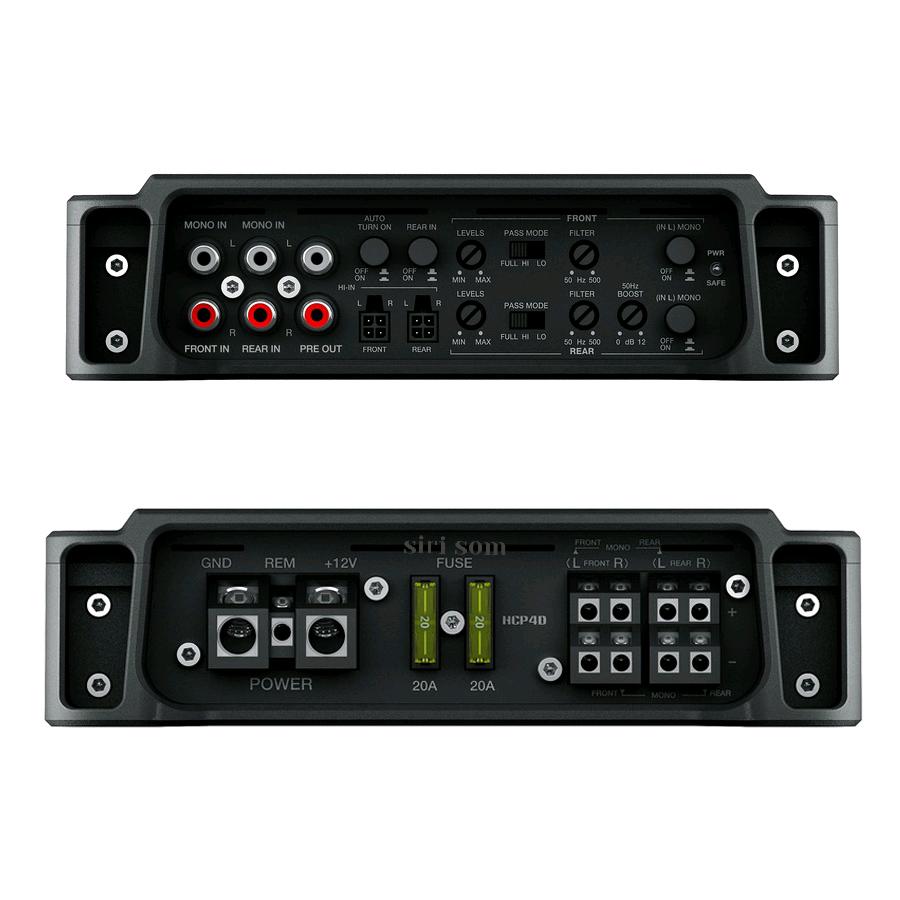 Combo Hertz Amplificador Hcp 4 + Kit Tweeter C 26