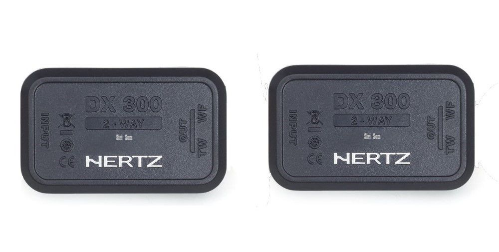 Combo Hertz Kit 2 vias Dsk 165.3 + Coaxial Dcx 165.3 + Amplificador Hcp 4 + Subwoofer Es 200.5