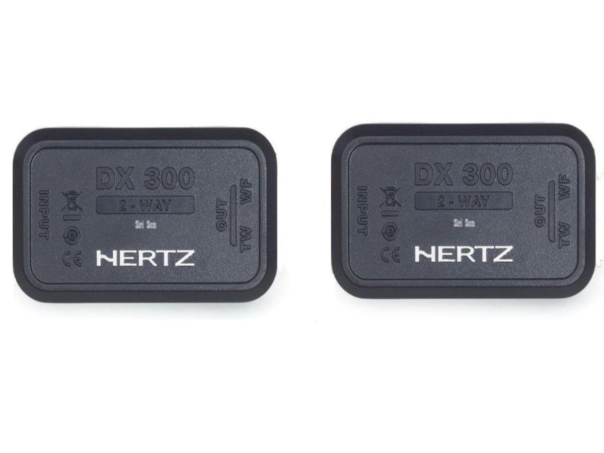 Combo Hertz Kit 2 vias Dsk 165.3 + Coaxial Dcx 165.3 + Manta 4 Portas
