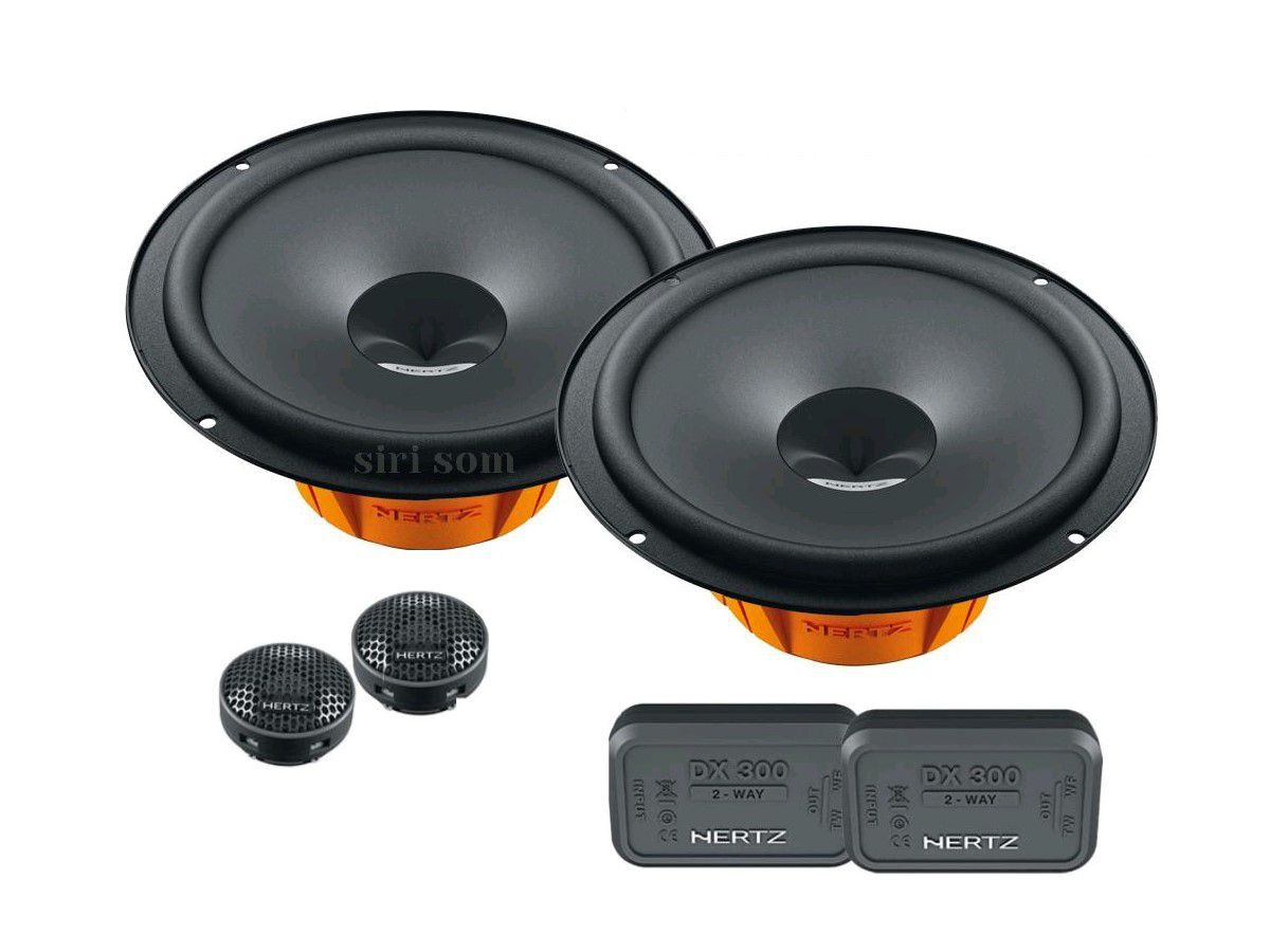 Combo L 200 Kit 2 vias Dsk 165.3 + Coaxial Dcx 165.3 + Amplificador Hcp 4 + Aps 8 r + fiação