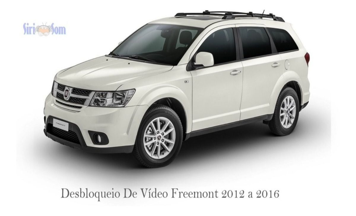 Desbloqueio De Imagem Fiat Freemont + TV Full HD