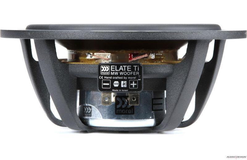 Kit 2 Vias Morel Elate Titanium 602 (6 Pols / 360w Rms)