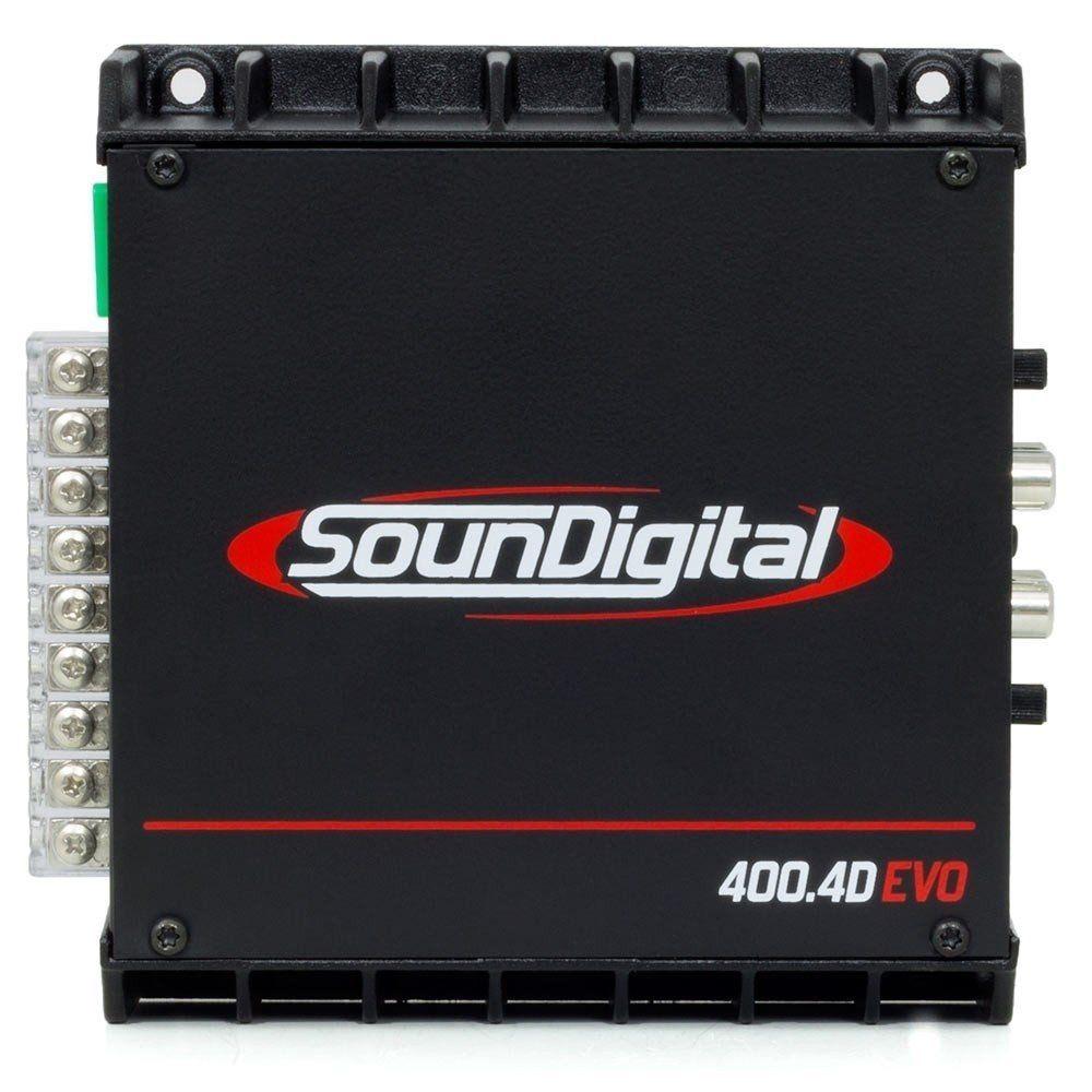 Módulo Amplificador Digital Soundigital Sd 400.4d Evo