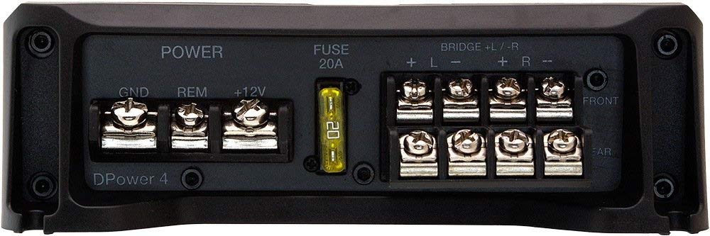 Módulo Amplificador Hertz Dpower 4 Canais 300 Wtts Classe D