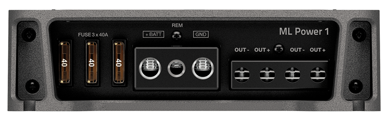 Módulo Amplificador Potência Hertz Ml Power 1 ( 1 Canal / 1000w ) Mono