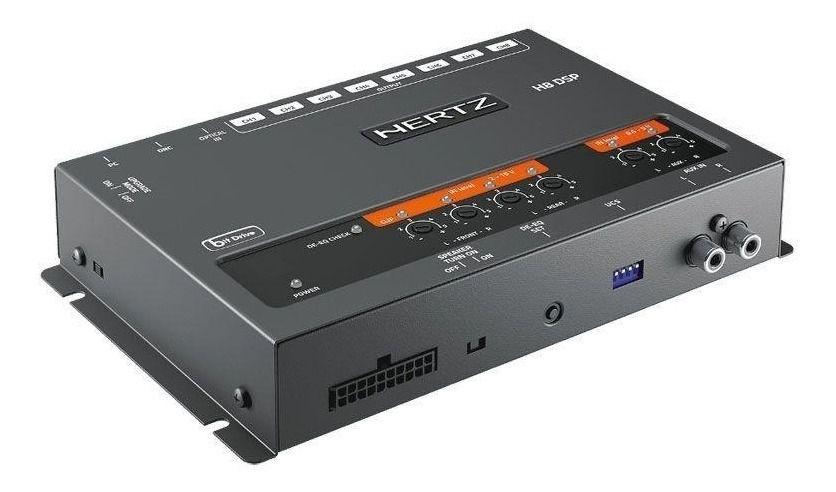 Processador De Áudio Hertz H8 Dsp Cr Com Controle Drc