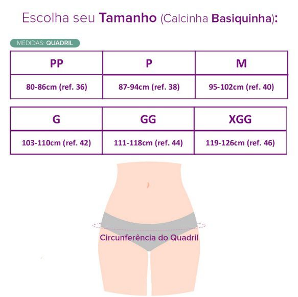 Calcinha Absorvente Inciclo - Basiquinha