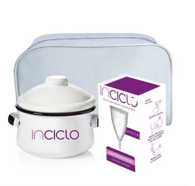 Kit 1 Novo Inciclo, Panela e Necessaire