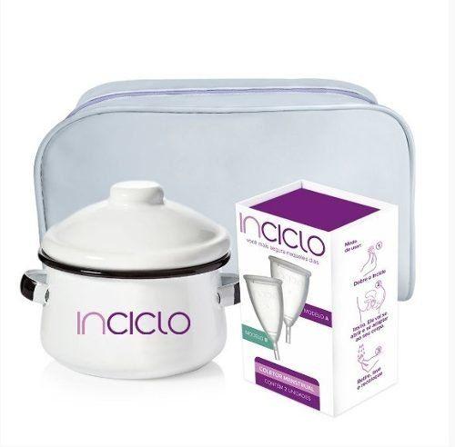 Kit 2 Novo Inciclo + Panelinha + Necessaire