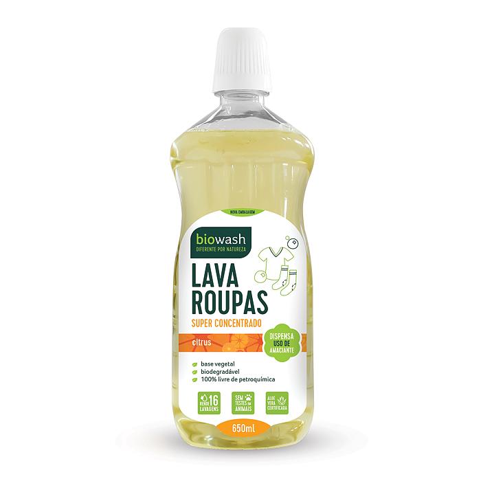 Lava Roupas Super Concentrado Biowash Citrus