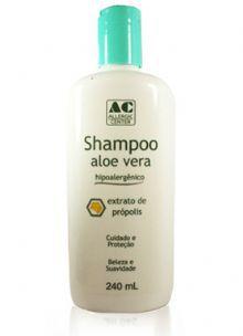 Shampoo Aloe Vera e Própolis Hipoalergênico