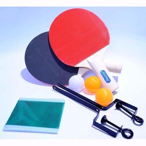 84840192d Kit Ping Pong 2 Raquetes 1 Bolinha Rede Tênis Mesa Jogo - Loja Catarinense