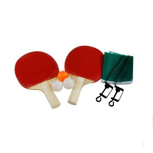 0aa458782 Kit Ping Pong Tenis Mesa Casa 2 Raquetes 3 Bolinhas 1 Rede Colorido - Loja  Catarinense