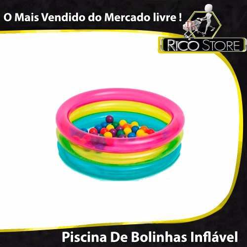 Água Piscina Bolinha Criança Brinquedo Promoção Bebê Banho - Loja  Catarinense 5b7b1becb54ec