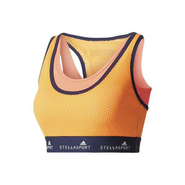 Top Cropped adidas Stellasport Moda Fitness Stella Mccartney