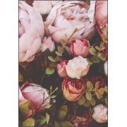 30 Quadrados de Borracha Top+ Estampado + Brinde de 30 pares de alças - Modelo Rose