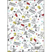 30 Quadrados de Borracha Top+ Estampado + Brinde de 30 pares de alças - INFANTIL - Modelo Snoopy