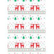 Quadrados de Borracha Top+ Estampado + Brinde de 30 pares de alças - Modelo Natal