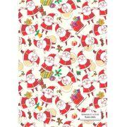 Quadrados de Borracha Top+ Estampado + Brinde de 30 pares de alças - Modelo Noel