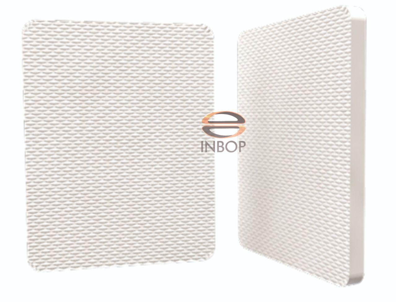 30 Quadrados de Borracha Top+ Brinde de 30 pares de alças - Modelo Monocolor  - INBOP - Indústria de Borrachas e Polímeros