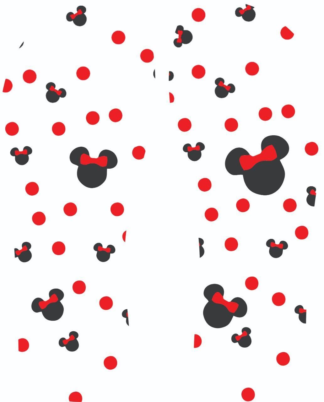30 Quadrados de Borracha Top+ Estampado + Brinde de 30 pares de alças - INFANTIL - Modelo Minie  - INBOP - Indústria de Borrachas e Polímeros