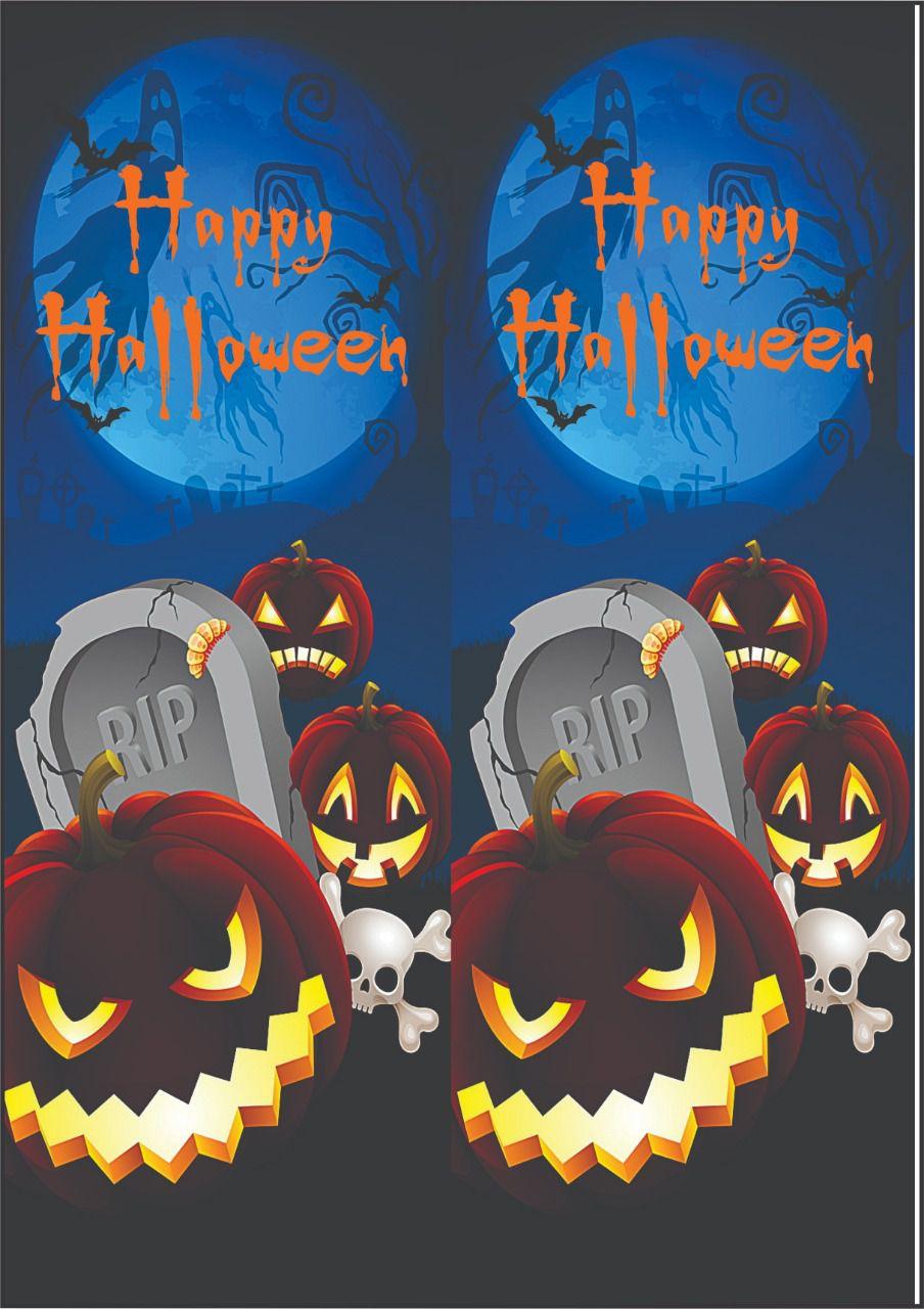 30 Quadrados de Borracha Top+ Estampado + Brinde de 30 pares de alças - Modelo Halloween  - INBOP - Indústria de Borrachas e Polímeros