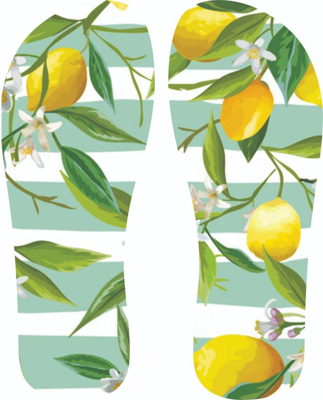 30 Quadrados de Borracha Top+ Estampado + Brinde de 30 pares de alças - Modelo Lemon  - INBOP - Indústria de Borrachas e Polímeros