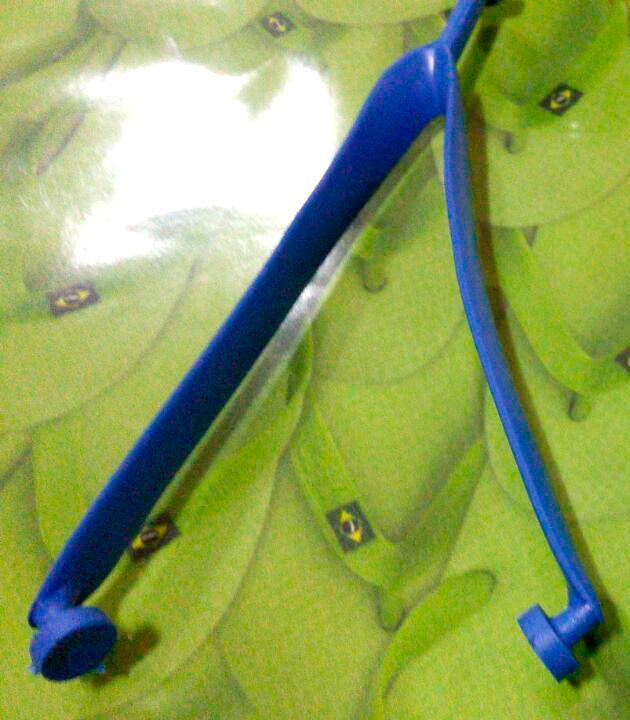 Alças Lisas Delta MASCULINO - 10 pares  - INBOP - Indústria de Borrachas e Polímeros