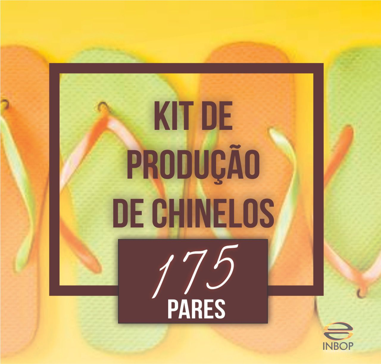 KIT de produção de chinelos  - INBOP - Indústria de Borrachas e Polímeros