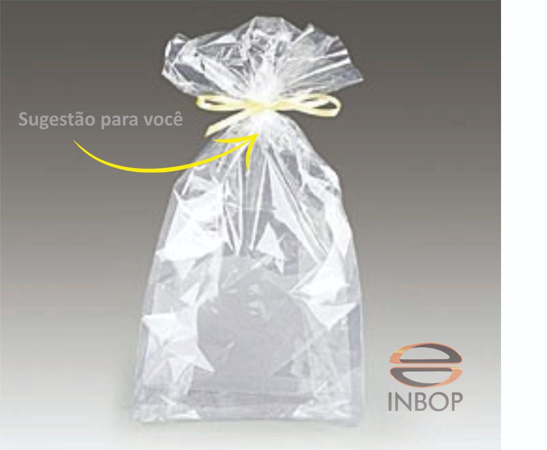 Sacos Plásticos Transparentes Incolor - 30 Unidades  - INBOP - Indústria de Borrachas e Polímeros