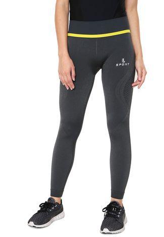 f6758041d Calça Legging Lupo Shine Run sem costura 71707-001