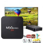 Aparelho Tv Box MXQ PRO 4k Android 7.1 8gb