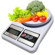 Balança Digital de Cozinha com Capacidade de 10 Kg - Tomate