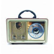 Caixa de Som Retro Rádio Bluetooth, USB, AUX CMIK Mk110