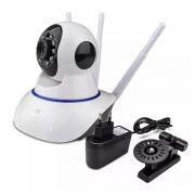 Câmera Ip Monitoramento Wifi 3 Antenas Onvif Semi SC-B3