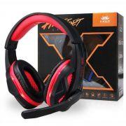 Headphone Gamer de led com Microfone Super Bass - Kp 396