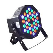 Projetor de Led Mini Par com 36 Leds
