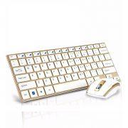 Teclado com Mouse Sem Fio Ultrafino 2,4ghz Wireless Usb Hk-3910