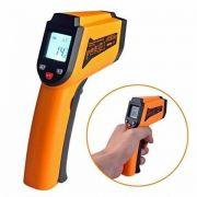 Termômetro Digital Industrial Lcd Infravermelho Mira Laser