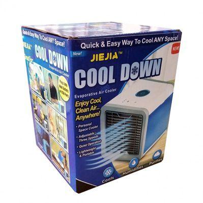 Air Cooler Portátil Umidificador Purificador de Ar JIEJIA