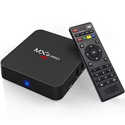 Aparelho Tv Box MXQ PRO 4k Android 7.1 8gb com Mini Teclado Keyboard Wireless