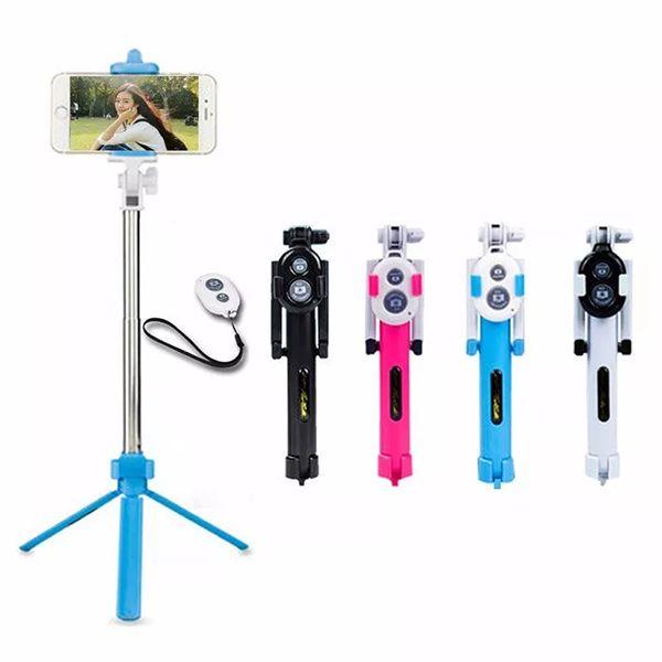 Bastão de Selfie com Tripé e Controle WXY -01