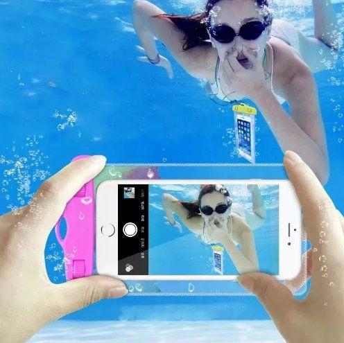 Bolsa Capa A prova D'água para Celular IPX8
